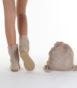 Летние вязаные сапоги Livs Classic Short Medium Brown — фото сзади