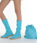 Летние вязаные сапоги Livs Classic Tall Turquoise — фото влево