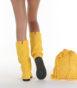 Летние вязаные сапоги Livs Classic Tall Rasta Yellow — фото сзади
