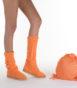 Летние вязаные сапоги Livs Classic Tall Mock Orange — фото вправо