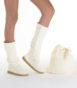 Летние вязаные сапоги Livs Classic Tall Cream — фото вправо
