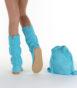 Летние вязаные сапоги Livs Classic Tall Turquoise — фото сзади