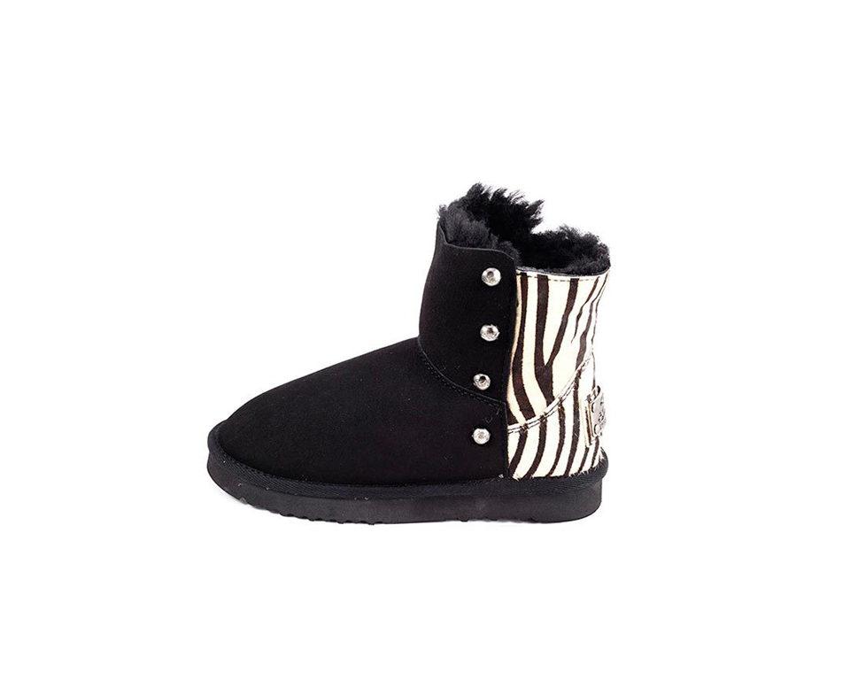 zebra-short-black