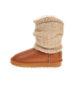socks-brown-metallic
